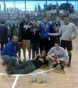 Equipo Xuvenil Fútbol Sala