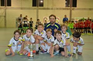 Campión Prebenxamín 1º ano: Santiago Futsal