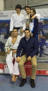 Alexandra Lorenzo Piñeiro, 5º posto e Santiago Magán Sanz, medalla de ouro