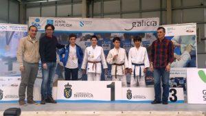 Manuel García Amado, SubCampión no Campionato Infantil Judo. Fase Sur