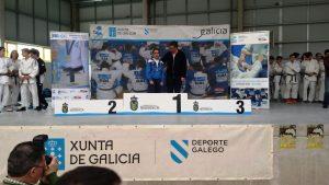 Noa García Amado, Campioa no Campionato Cadete Judo. Fase Sur